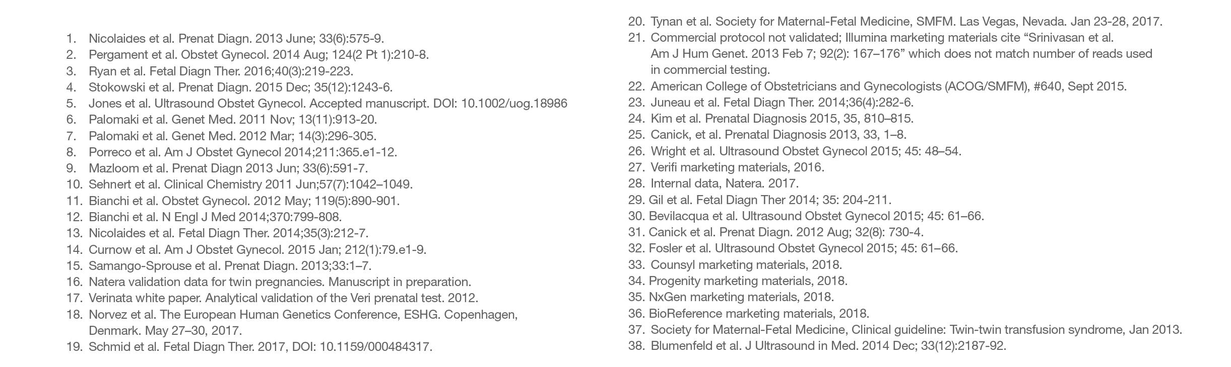 referencje testu prenatalnego panorama nipt